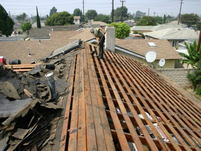 Before Roof Repair